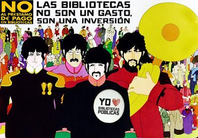 Beatles-manifestandose-por-las-bibliotecas