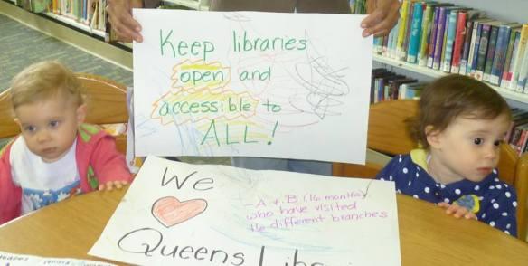 Queens bibliotecas