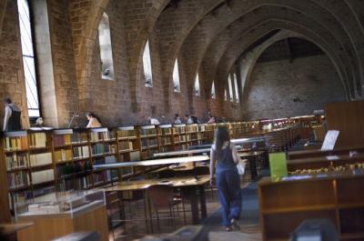 Sala de la Biblioteca de Catalunya ROBERT BONET