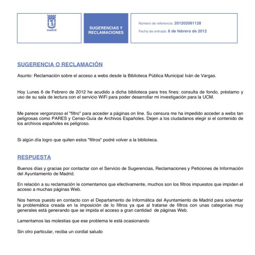 Wifi bibliotecas Ayuntamiento de Madrid
