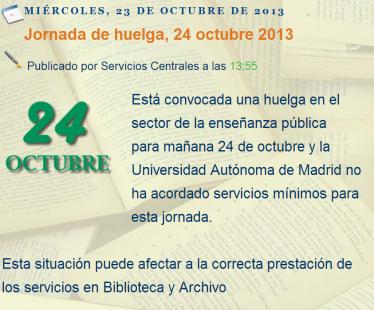 De CanalBiblios: blog de la biblioteca y archivo de la Universidad Autónoma de Madrid
