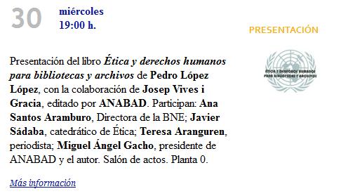 Libro Pedro López