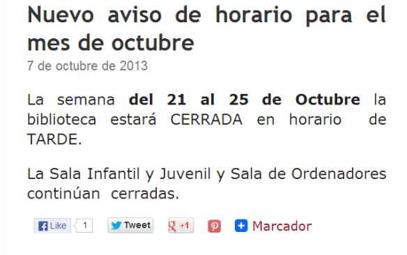 Aviso en el blog de la Biblioteca Julia Uceda. http://www.rmbs.es/blog/biblioteca-julia-uceda/