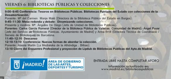 Encuentro profesional bibliotecarios 3