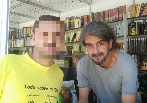 Con Fernando León, guionista y director de cine.