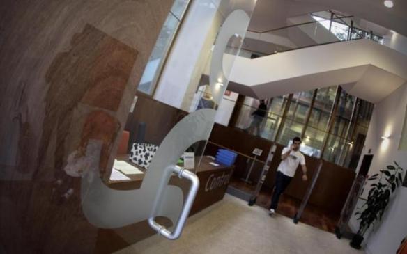 Interior de la biblioteca municipal Iván de Vargas, en el distrito Centro. Alberto di Lolli