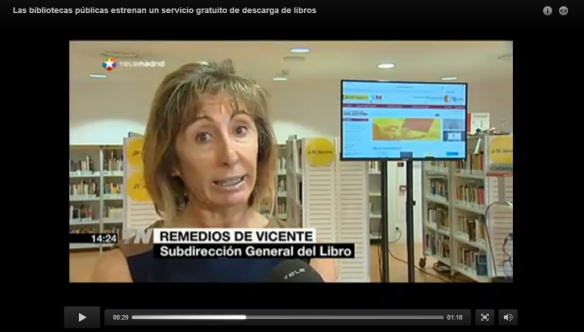 Para ver el vídeo de Telemadrid ir al enlace de abajo.