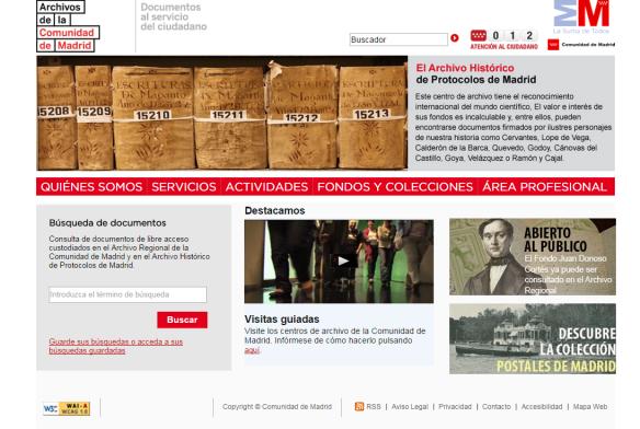 Portal de archivos