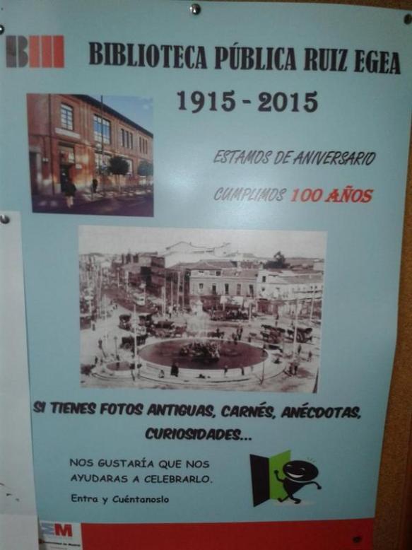 Aniversario Biblioteca Ruíz Egea