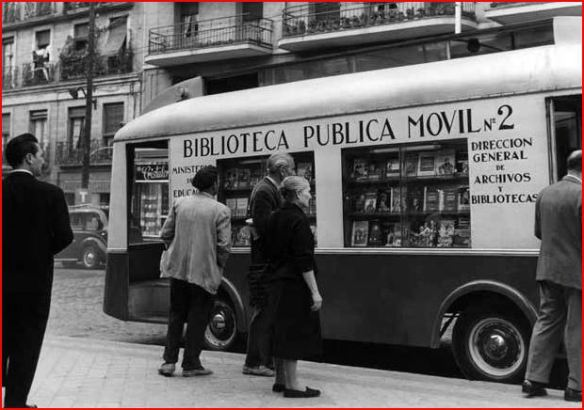 Bibliobuses Madrid 8