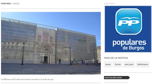 BPE en Burgos. Fuente: radioarlanzon.com