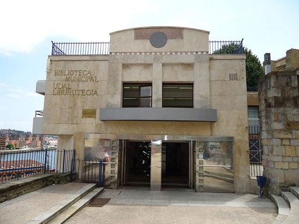 Biblioteca de Portugalete. Fuente, web municipal