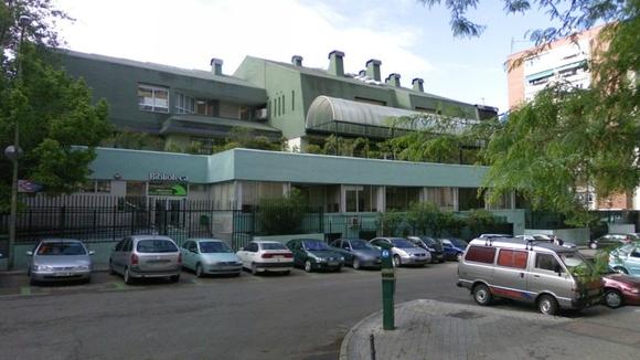 Barrio del Pilar biblioteca