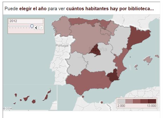 Parar interactuar con el gráfico hay que ir a la web original. http://www.elmundo.es/blogs/elmundo/mas-datos/2015/02/17/aumentan-las-visitas-a-las-bibliotecas.html
