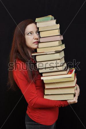 pila libros