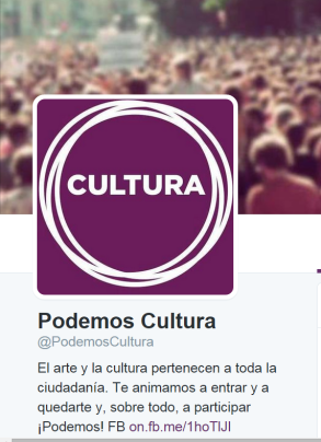 Podemos cultura