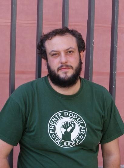 Guillermo Zapata, coportavoz de Ganemos. / Miguel Muñoz. CuartoPoder.es