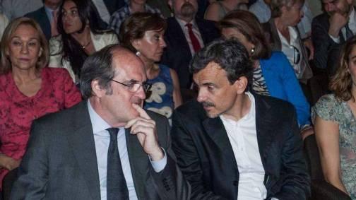 Ángel Gabilondo y José Manuel Lopez (Autor: Carlos Maisanaba Romero)